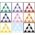 Gear Octahedron stickers